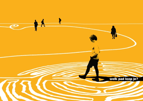 Labyrint image voor Over het IJ